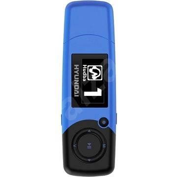 c8c1dcb2a Hyundai MP 366 FMBL 4GB modrý - MP3 přehrávač