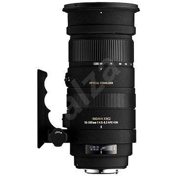 SIGMA 50-500mm f/4.5-6.3 APO DG OS HSM pro Sony - Objektiv
