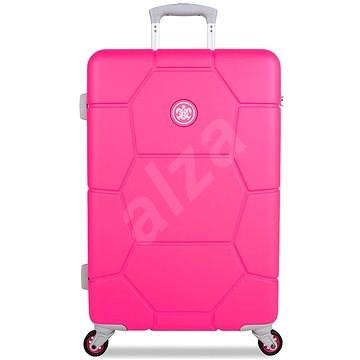 Suitsuit TR-1248/3-M ABS Caretta Hot Pink - Cestovní kufr