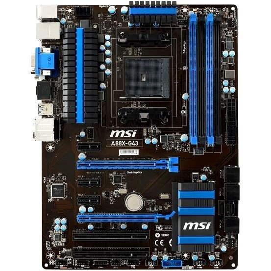MSI A88X-G43 - Základní deska