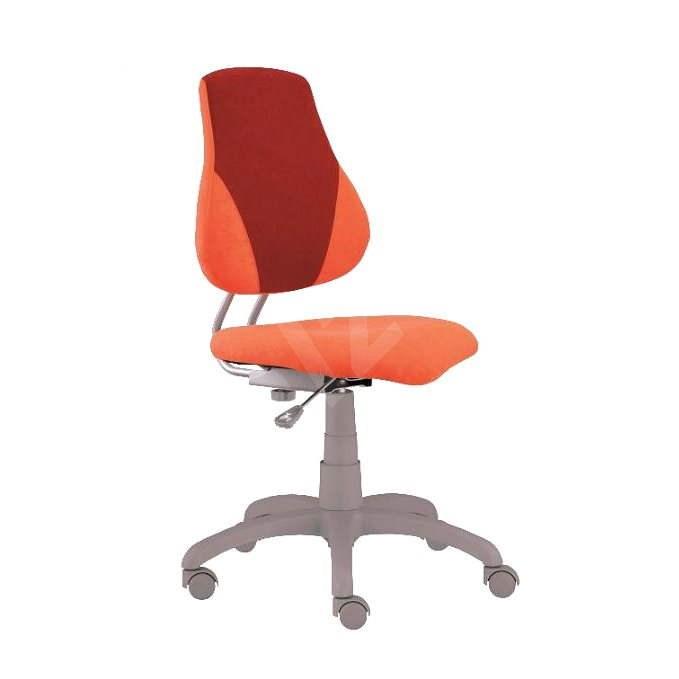 ALBA Fuxo V-line oranžovo/vínová - Dětská židle