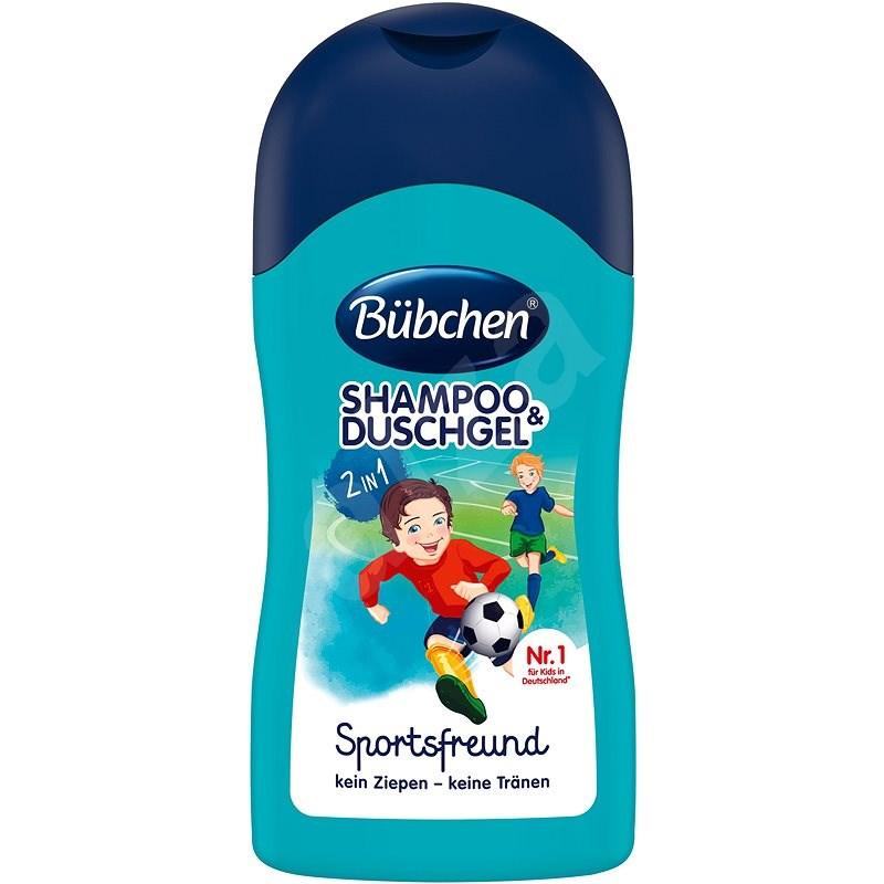 Bübchen Kids šampon a sprchový gel - Sport 50ml - Dětský šampon