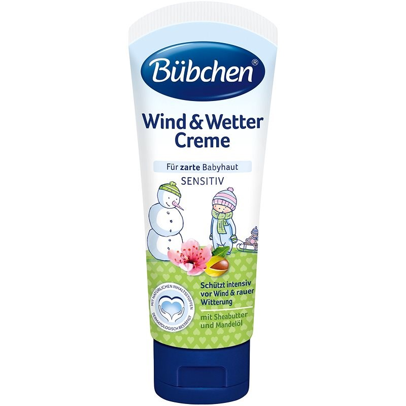 Bübchen Baby Protective Cream for all Weather Conditions - Children's Body Cream