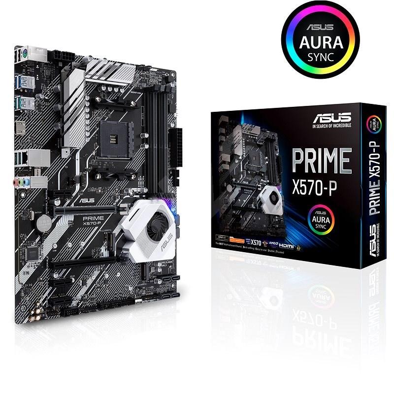 ASUS PRIME X570-P - Základní deska