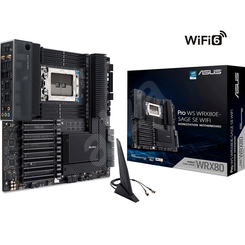 ASUS Pro WS WRX80E-SAGE SE WIFI - Základní deska