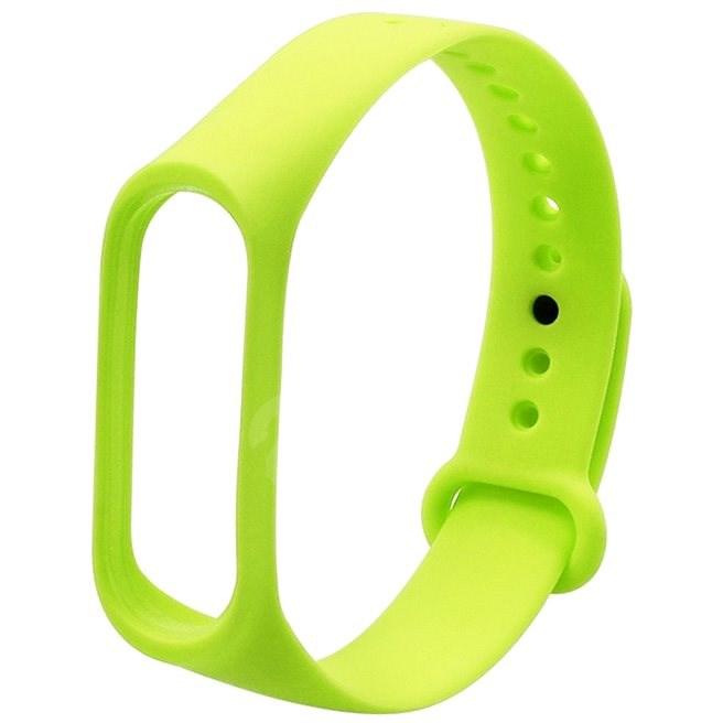 Eternico Basic zelený pro Mi Band 3 / 4 - Řemínek