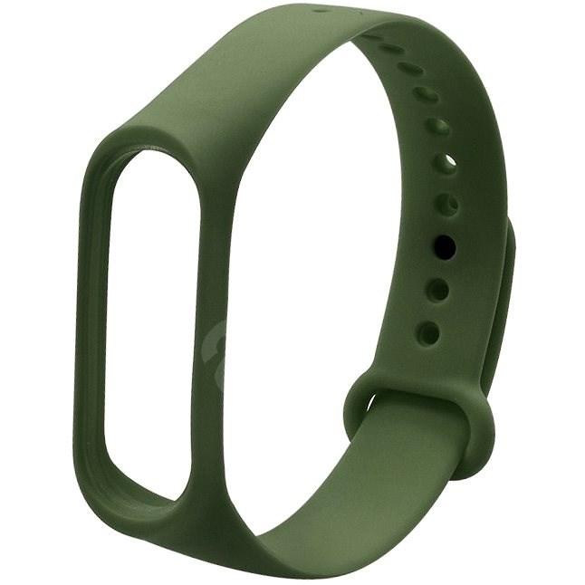 Eternico Basic olivově zelený pro Mi Band 3 / 4 - Řemínek