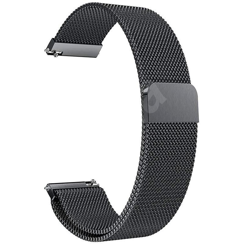 Eternico Samsung Quick Release 20 Milanese Band černý - Řemínek