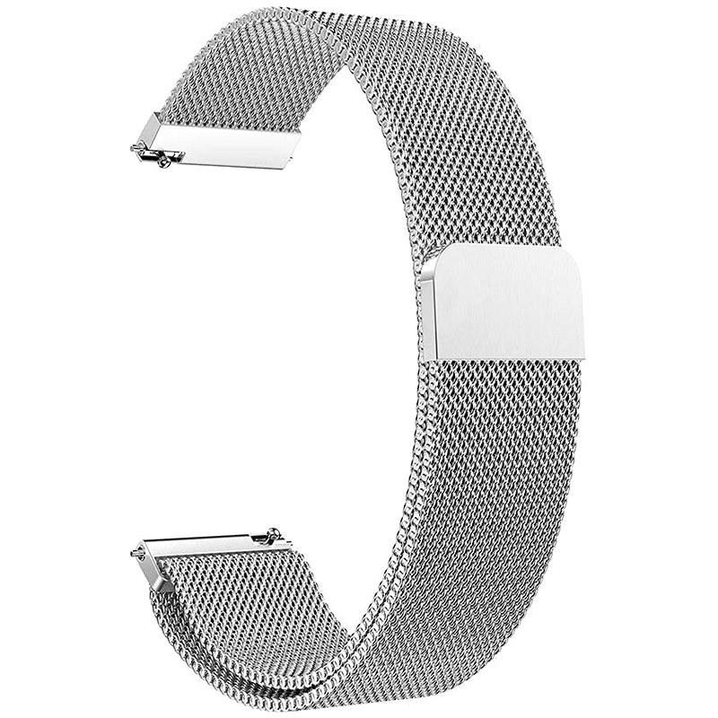 Eternico Samsung Quick Release 20 Milanese Band stříbrný - Řemínek