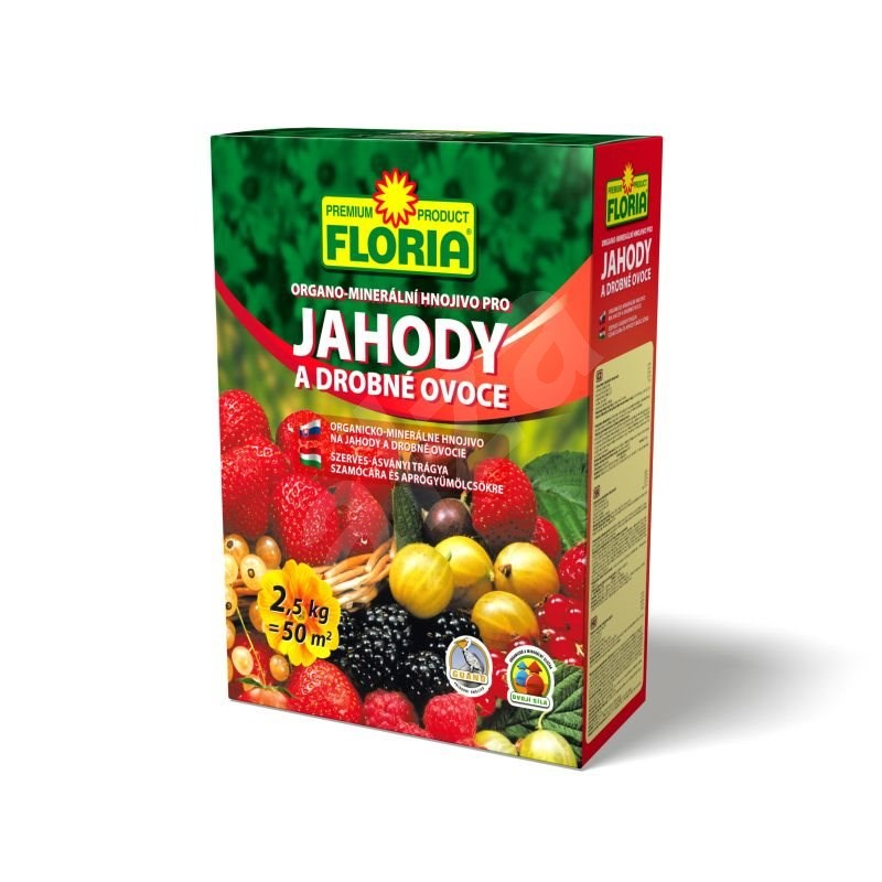 FLORIA pro jahody a ovoce 2,5 kg - hnojivo