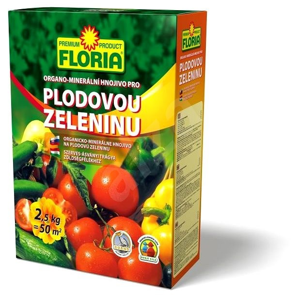 FLORIA pro plodovou zeleninu 2,5 kg - hnojivo