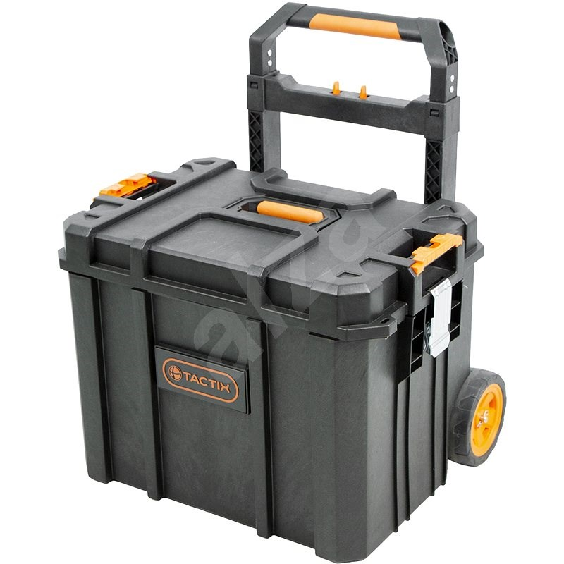 Tactix vodotěsný plastový pojízdný kufr - Kufr na nářadí