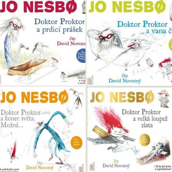 Audioknihy s Doktorem Proktorem za výhodnou cenu - Jo Nesbo