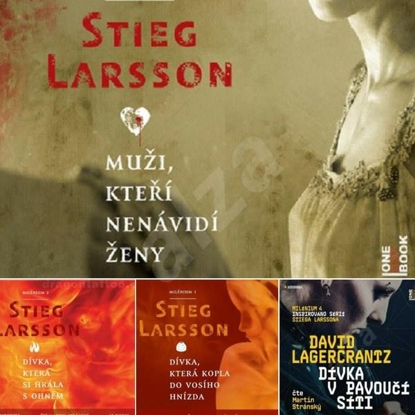 Milénium I. - IV. za výhodnou cenu - Stieg Larsson