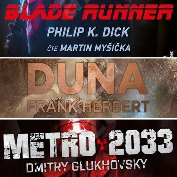 3 slavné sci-fi romány za výhodnou cenu - Dmitry Glukhovsky  Frank Herbert  Philip K. Dick