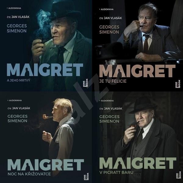 Balíček audioknih komisař Maigret za výhodnou cenu - Georges Simenon