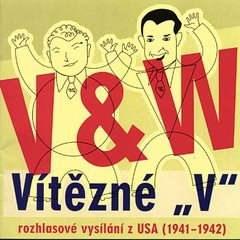"""Vítězné """"V"""" - Jan Werich"""