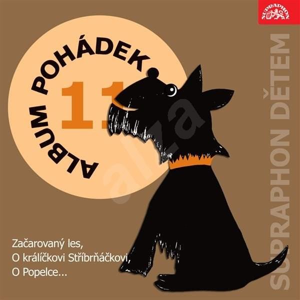 """Album pohádek """"Supraphon dětem"""" 11. (Začarovaný les, O králíčkovi Stříbrňáčkovi, O Popelce...) - Václav Čtvrtek"""