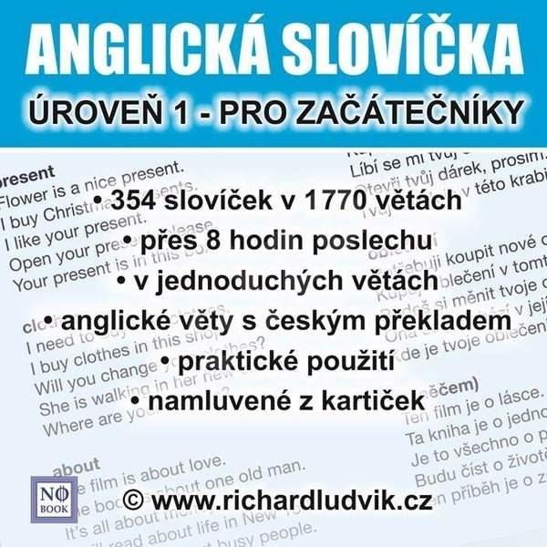 Anglická slovíčka - úroveň 1 pro začátečníky - Ludvík Richard