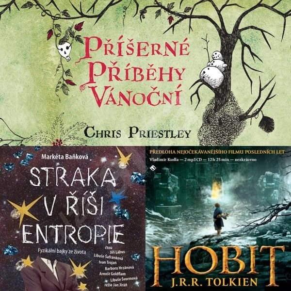 Balíček audioknih pro mladší teenagery za výhodnou cenu - J. R. R. Tolkien  Markéta Baňková  Chris Priestley
