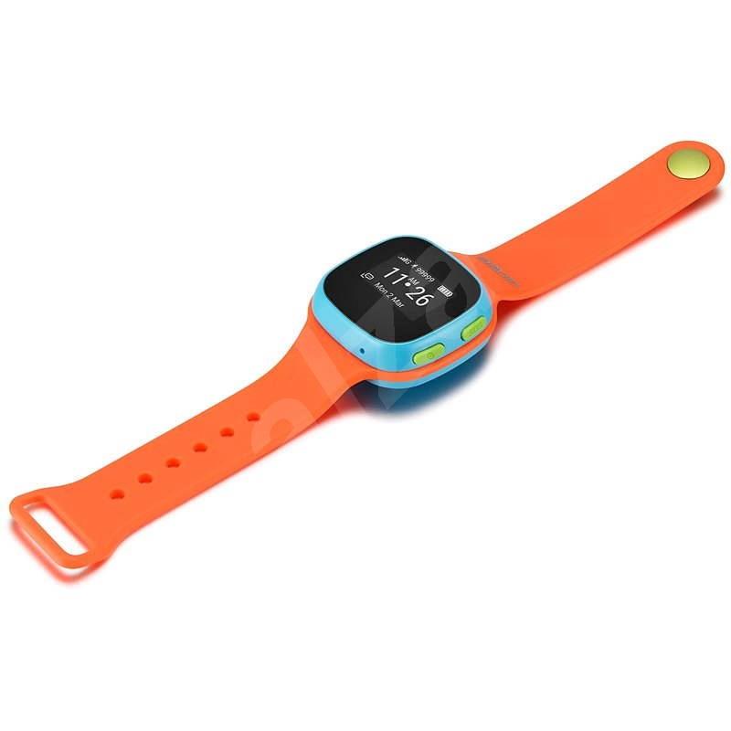ALCATEL MOVETIME Track&Talk Watch Orange/Blue - Chytré hodinky