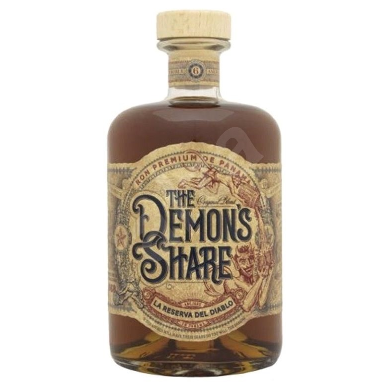 Demon'S Share 6Y 0,2L 40% - Rum