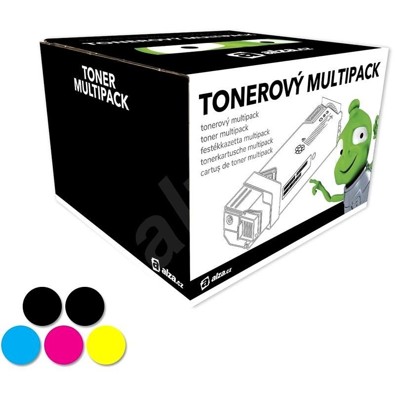 Alza č. 126 Multipack 5ks pro tiskárny HP - Alternativní toner