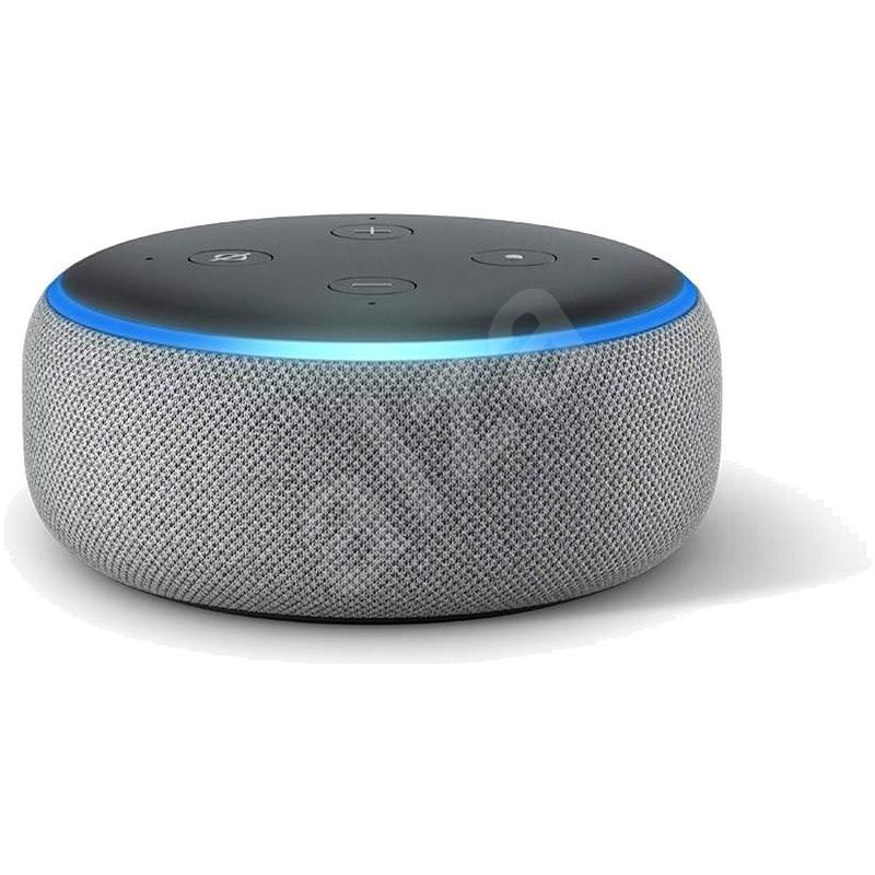 Amazon Echo Dot 3.generace Heather Gray - Hlasový asistent