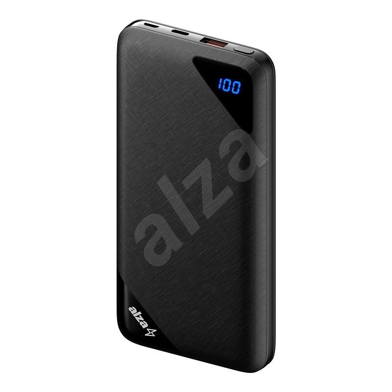 AlzaPower Source 16000mAh Quick Charge 3.0 černá - Powerbanka