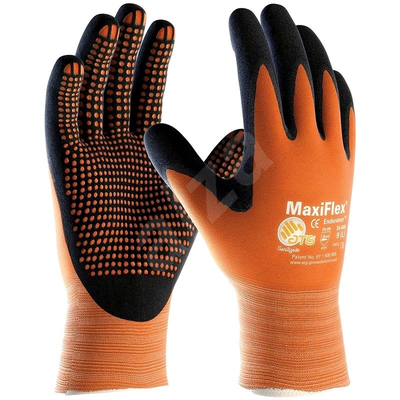 ATG MAXIFLEX ENDURANCE Gloves, size 08 - Work Gloves