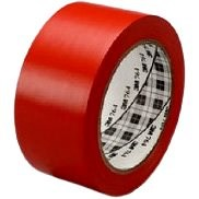 3M™ Universal Marking PVC Adhesive Tape 764i, Red, 50mm x 33m - Duct Tape