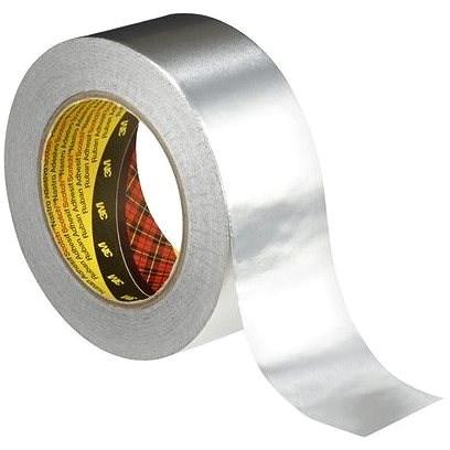 3M™ Aluminium Adhesive Tape 1436, Silver, 50mm x 50m - Duct Tape