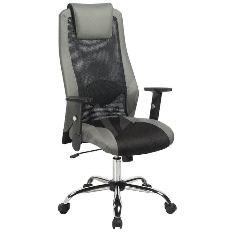 ANTARES Sander šedá - Kancelářská židle