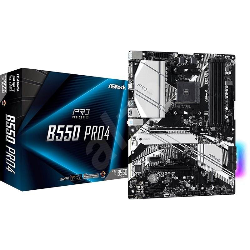 ASROCK B550 Pro4 - Základní deska