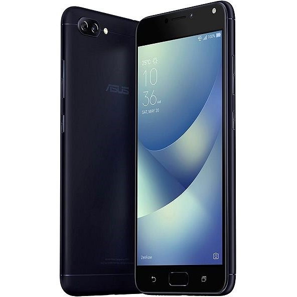 Asus Zenfone 4 Max ZC520KL Deepsea Black - Mobilní telefon