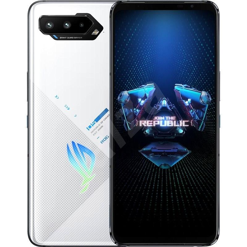 Asus ROG Phone 5 16GB/256GB bílá - Mobilní telefon