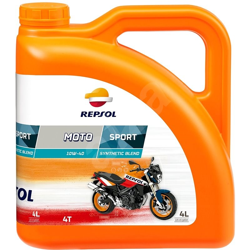 REPSOL MOTO SPORT 4-T 10W-40 4l - Motor Oil
