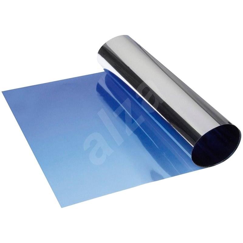 FOLIATEC - metalizovaný, přechodový stínící pruh na přední okno - modrý - Stínítko do auta