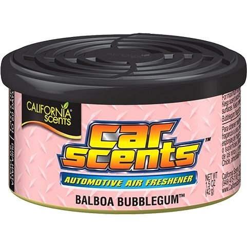 California Car Scents - ŽVÝKAČKA (balboa bubblegum) - Vůně do auta