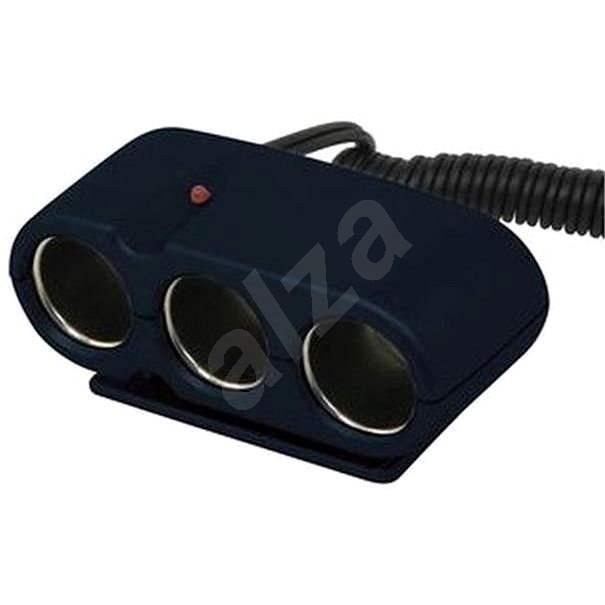 Carpoint Roztrojka do zapalovače 12V 5A - Autoadaptér