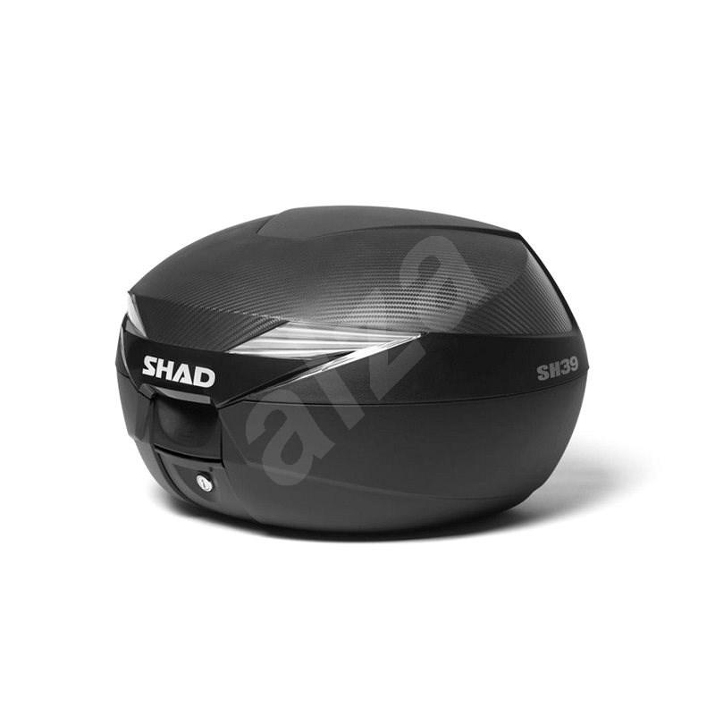 SHAD Vrchní kufr na motorku SH39 karbon - Kufr na motorku
