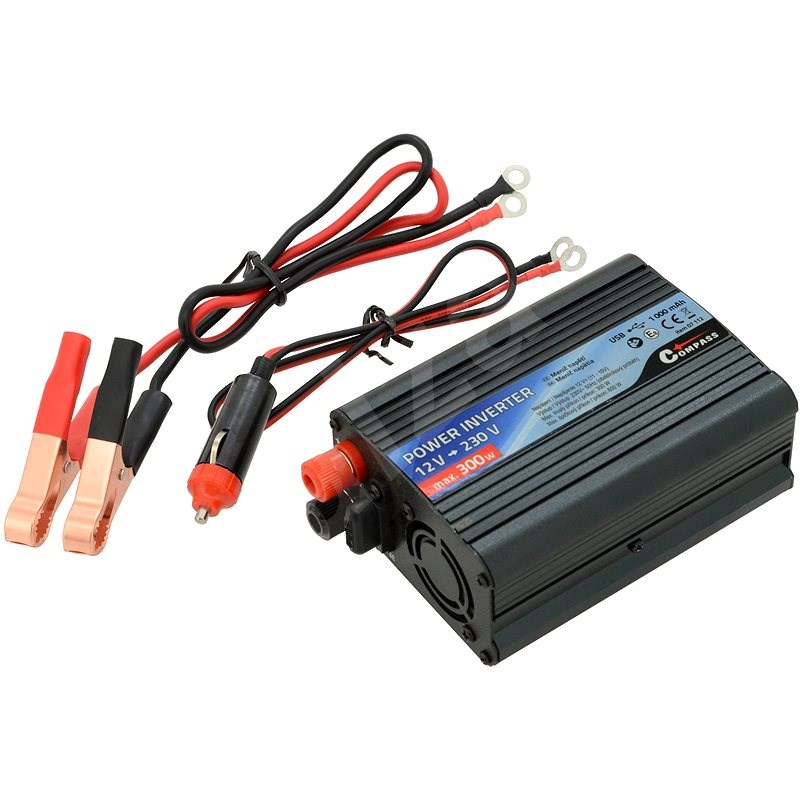 COMPASS Měnič napětí 12/230V 300W - Měnič napětí