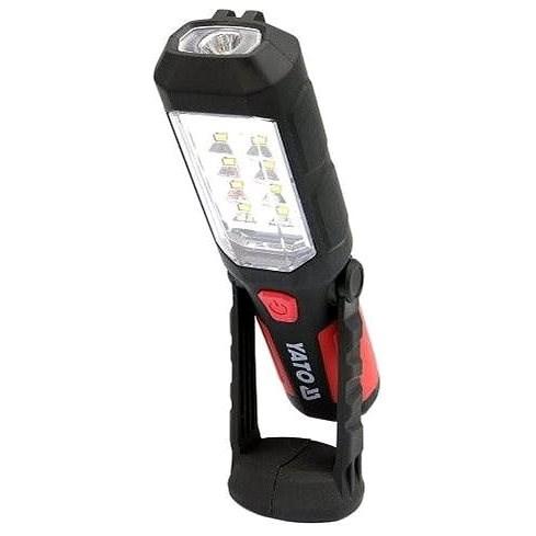 YATO Lampa montážní 8+1 LED, hák+magnet - Svítilna