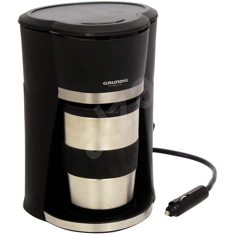 GRUNDIG 29999 Autokávovar 12V s nerezovým termo hrnkem - Kávovar