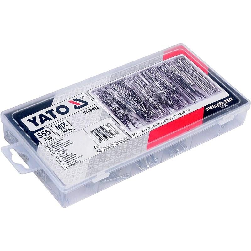 YATO Sada 555ks - Závlačky