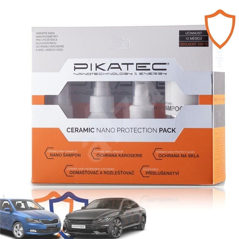 Pikatec Sada nanokosmetiky na auto Ceramic - Sada autokosmetiky