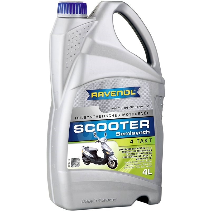 RAVENOL SCOOTER 4-Takt Teilsynth.; 4 L  - Motorový olej