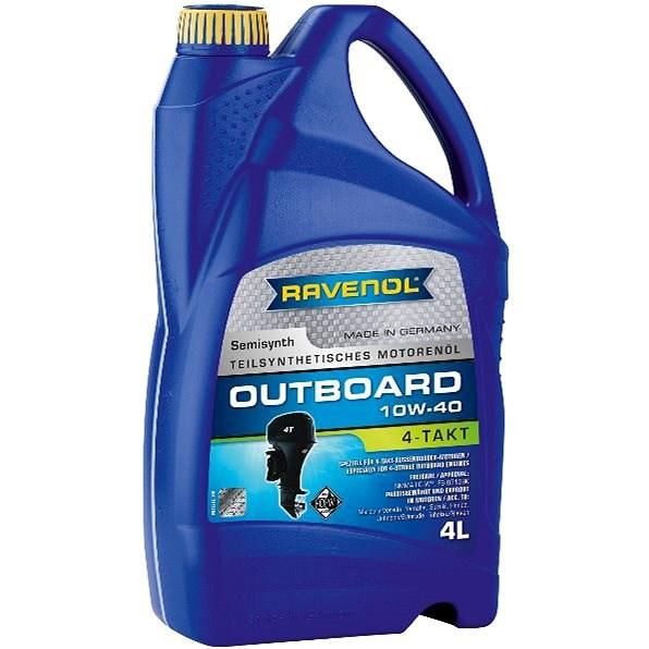 RAVENOL Outboardoel 4T SAE 10W-40; 4 L  - Motorový olej