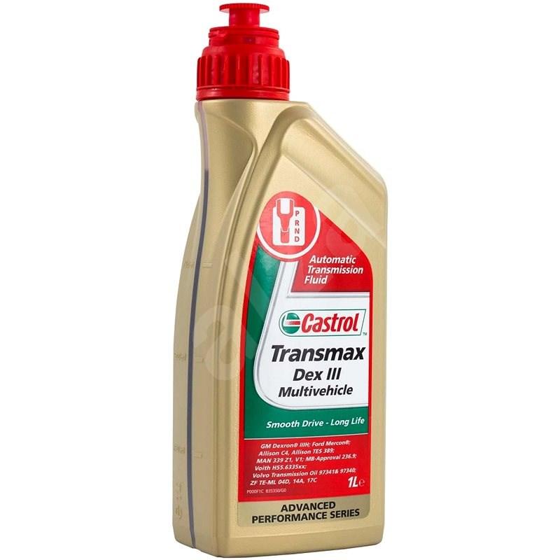 Castrol ATF Transmax Dex III Multivehicle 1L - Převodový olej