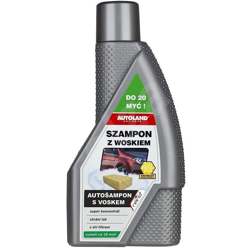 COMPASS NANO+ Car Shampoo with Wax 600ml - Car Wash Soap